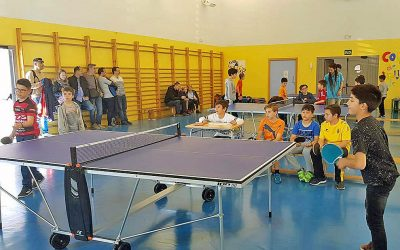 Torneo de ping-pong: fotos
