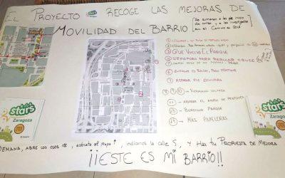 Caminos escolares: ¿Que mejoras quieres para el barrio?