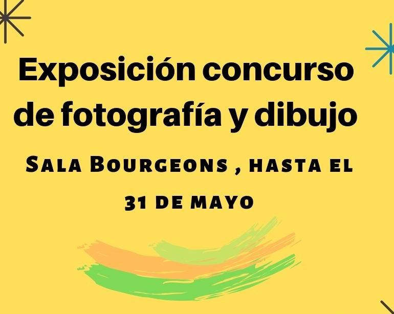 EXPOSICIÓN DE LAS OBRAS  DEL IX CONCURSO DE FOTOGRAFÍA Y DIBUJO LUCIEN BRIET