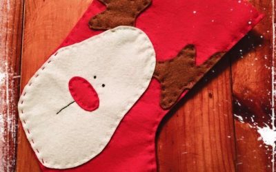 """Taller para madres y padres """"Calcetín de Papá Noel"""""""