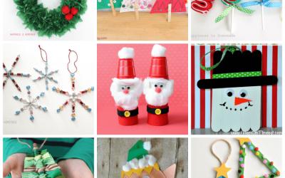 Trae tu adorno navideño para el cole