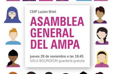 Asamblea General del AMPA 2019